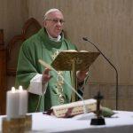 Papa: ter medo de tudo é pecado que paralisa o cristão