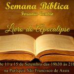 Semana Bíblica da forania centro