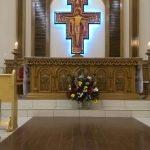 Solenidade de inauguração da capela São João Evangelista