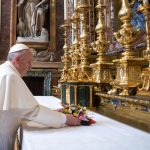 Papa visita Basílica de Santa Maria Maior antes de ir à Colômbia