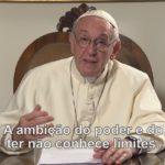 Reze com o Papa pelo fim da corrupção