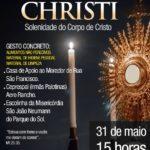 Celebração de Corpus Christi 2018