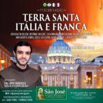 Peregrinação à Terra Santa, Itália e França