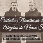 Missa em comemoração aos 80 anos da custódia franciscana