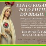SANTO ROSÁRIO PELO FUTURO DO BRASIL