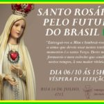 Rosário pelo futuro do Brasil