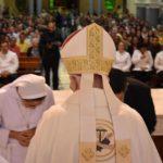 Missa solene de São Francisco de Assis, dedicação do novo altar e aniversário de nosso pároco