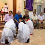 ACONTECEU: Celebração da Santa Ceia (Lava pés)