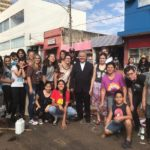 Corpus Christi: Montagem do tapete