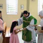 ACONTECEU: Entrega da bíblia