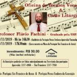 CONVITE: Oficina de técnica vocal e canto litúrgico