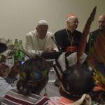Papa recebe delegação de indígenas por ocasião do Sínodo da Amazônia
