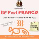 CONVITE: 15º FEST FRANGO