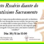 CONVITE: Santo Rosário