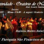 CONVITE: Natividade - Oratório de Natal