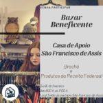 CONVITE: Bazar Beneficente