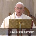 A oração especial do Papa pelas vítimas anônimas da pandemia