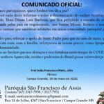 COMUNICADO OFICIAL: COVID-19