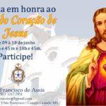 CONVITE: NOVENA SAGRADO CORAÇÃO DE JESUS