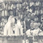 Santuário de Aparecida celebra 40 anos da consagração do altar, realizada por João Paulo II