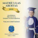 COLÉGIO NOSSA SENHORA DAS GRAÇAS - EDUCAÇÃO CATÓLICA PARA A VIDA (matrículas abertas)