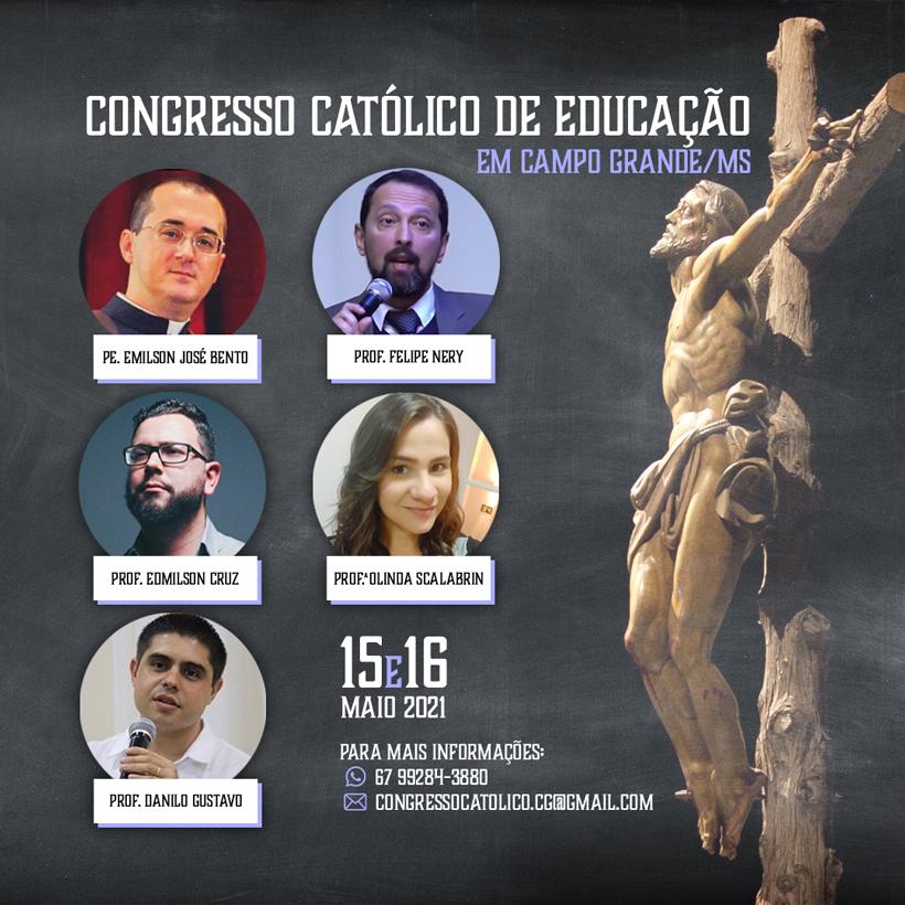 Congresso Católico de Educação em Campo Grande MS